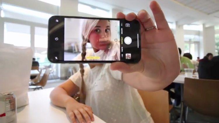La cámara del iPhone X