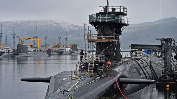 El submarino nuclear HMS Vigilant (Getty)