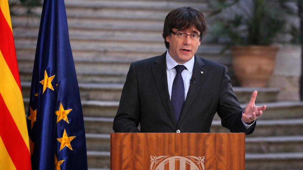 Puigdemont y miembros del Govern destituido se trasladan a Bélgica