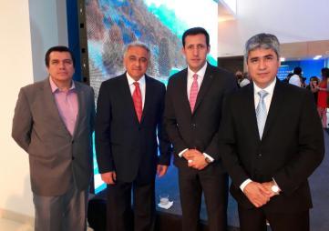 José Luis Maturana, Salvador Lo Cascio, Rafael Melo y Onesimo Ribera