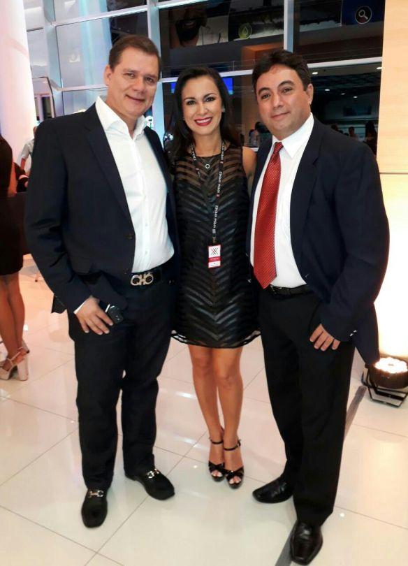 Carlos Siles, Ximena Jimenez y Eduardo Luna