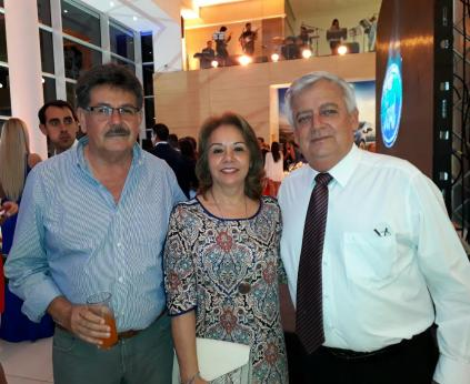 Miguel Moreno, Mayi Castro y Julio Cesar Landivar