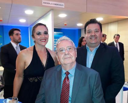 Soraya Abrahao, Marcelo El Hage y Marcelo El Hage Mercado