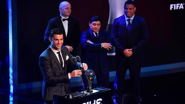 The Best 2017: Cristiano Ronaldo es el mejor jugador del año