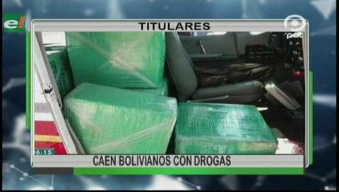 Video titulares de noticias de TV – Bolivia, noche del lunes 16 de octubre de 2017