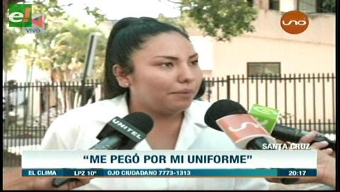 Estudiante denuncia agresión física por parte de un médico en la Maternidad