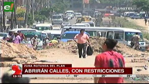 Municipio habilitará una vía de la rotonda del Plan Tres Mil para particulares