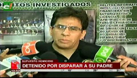 Yapacaní: Joven confunde a su padre con un animal y le dispara