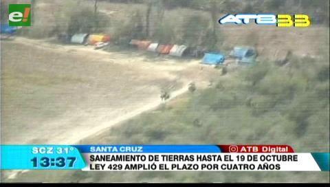 Cocarico informa que restan sanear 389.000 hectáreas de tierra en todo el país
