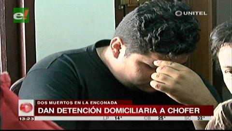 Detención domiciliaria para chofer acusado de atropellar a dos personas