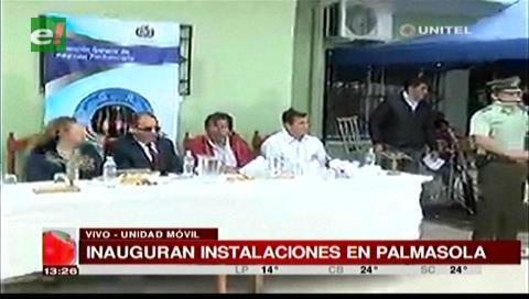 Gobierno inaugura nuevo centro de atención integral en la cárcel de Palmasola