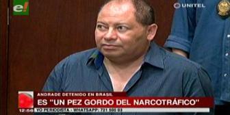 """Romero dice Fabio Andrade Lima Lobo es un """"pez gordo"""" del narcotráfico"""
