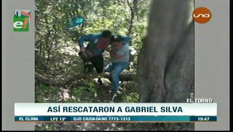 Secuestro: Así rescató la Policía a Gabriel Silva Cabrera