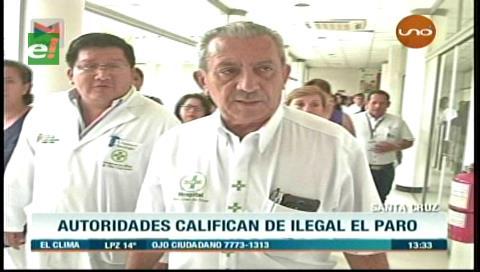 Gobernación cruceña garantiza atención normal en el Hospital de Niños