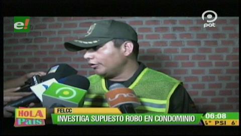 Felcc investiga robo en un condominio
