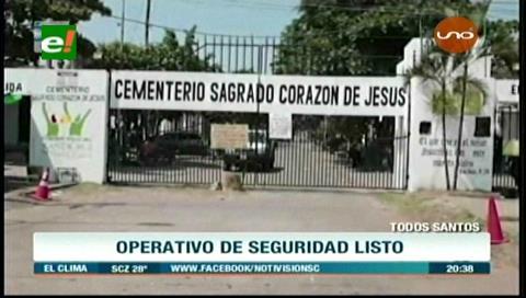 Alcaldía cruceña ultima detalles para visita a cementerios