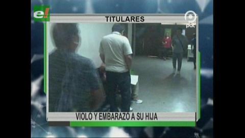Video titulares de noticias de TV – Bolivia, mediodía del sábado 28 de octubre de 2017