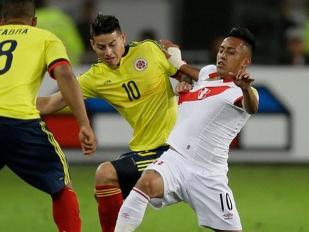Polemico arreglo entre los jugadores peruanos y colombianos