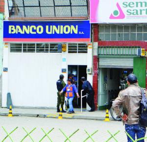 Seguridad del banco público en manos de una sola empresa