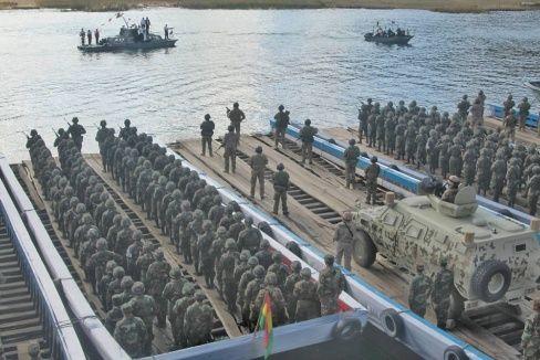 Morales: FFAA, listas para hacer frente a agresión del imperio