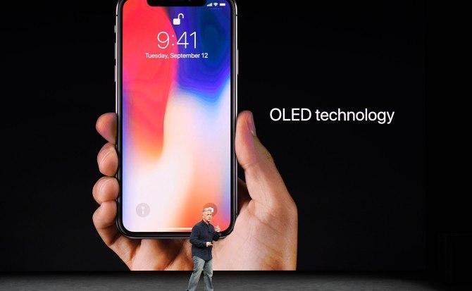 Apple reconoce los inconvenientes del OLED en el iPhone X