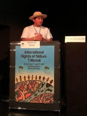 Dirigentes denuncian depredación del TIPNIS ante Tribunal de Derechos de la Naturaleza