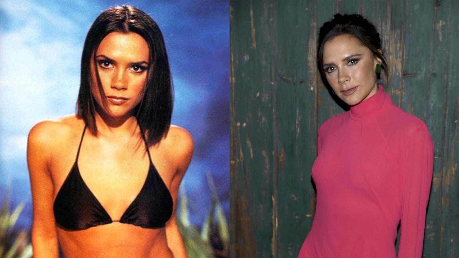 Victoria Adams antes y despues