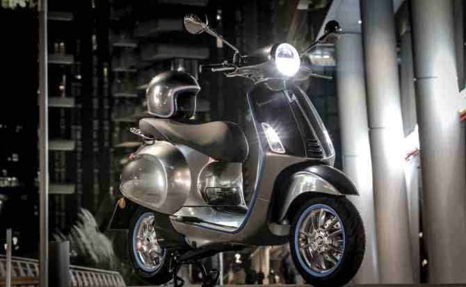 Vespa comenzará a vender su moto eléctrica en 2018