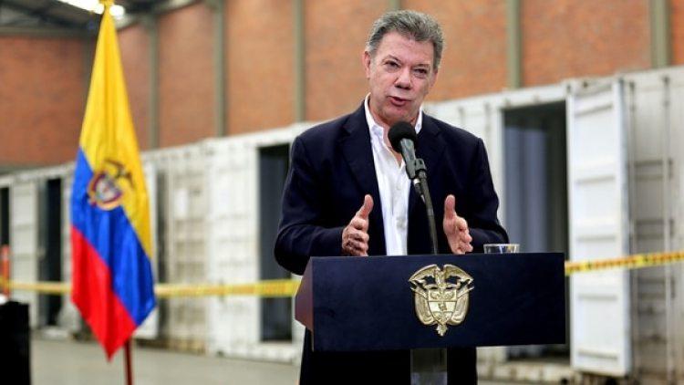 Juan Manuel Santos informó que fue la mayor incautación de los últimos 40 años (EFE)