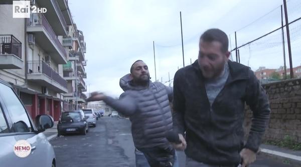 Mafioso golpeó salvajemente a periodista — Italia