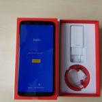 Caja de embalaje del OnePlus 5T