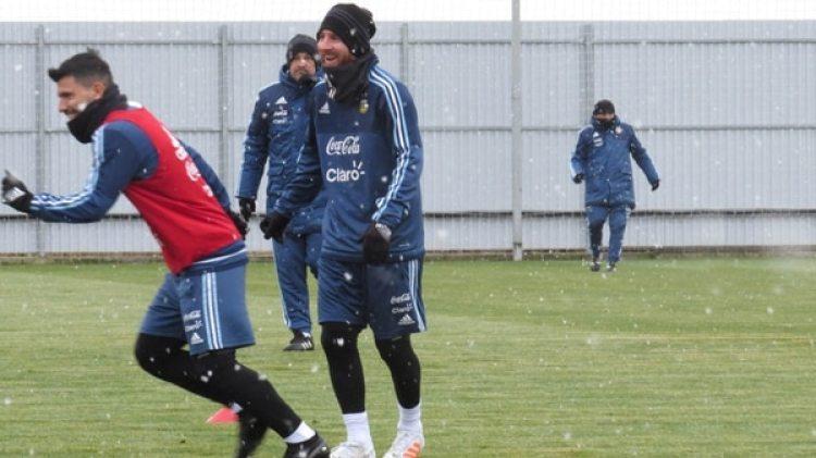 Argentina en el frío de Rusia