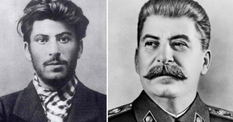 Stalin de joven y ya maduro