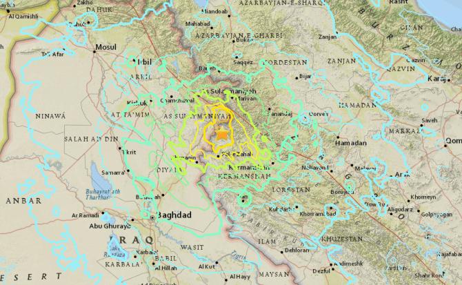¿Por qué ocurrió el terremoto entre Irán e Irak que ha dejado más de 300 muertos?