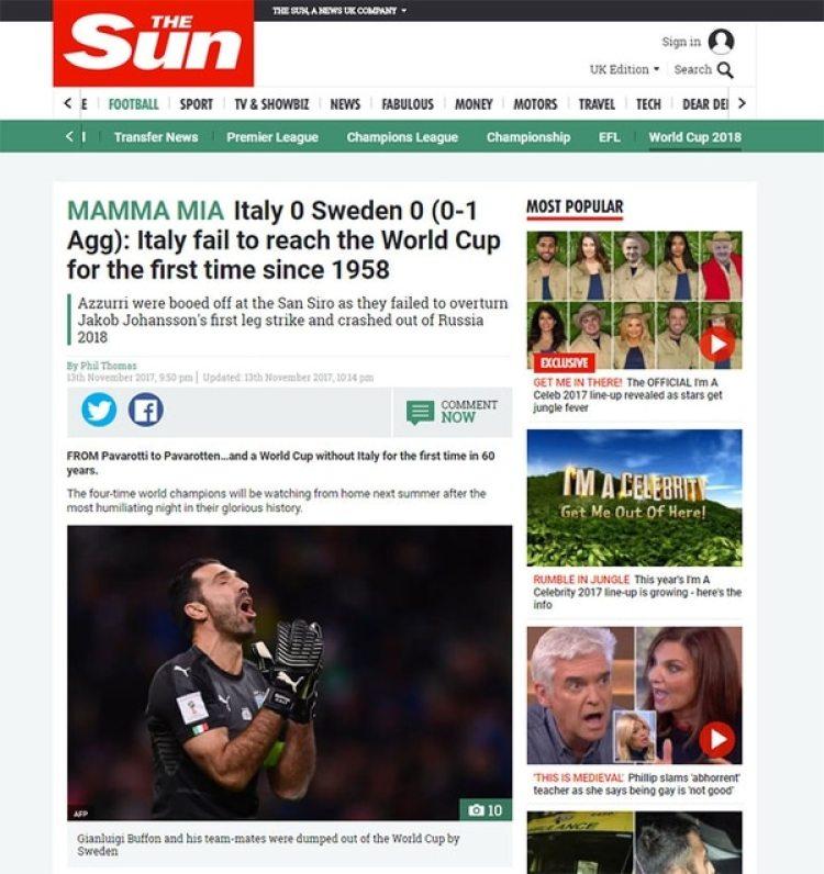 "The Sun, Inglaterra, apostó por el ""Mamma mía"""