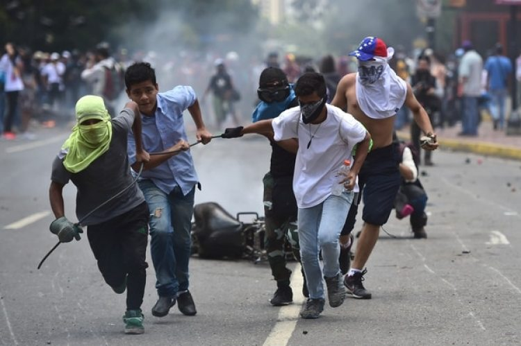 EEUU acusó al régimen chavista de utilizar la violencia contra su pueblo (AFP)