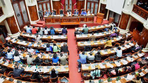 Sesión de la Asamblea Legislativa Plurinacional.