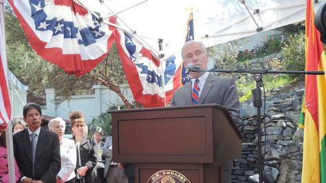Peter Brennan, el Encargado de Negocios de la Embajada de EEUU. Foto: Archivo-La Razón