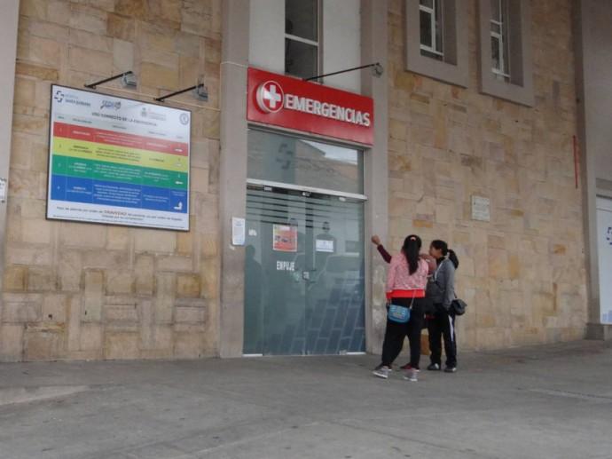 SITUACIÓN. Los casos de intentos de suicidio son atendidos en Emergencias del hospital Santa Bárbara para salvar vidas.