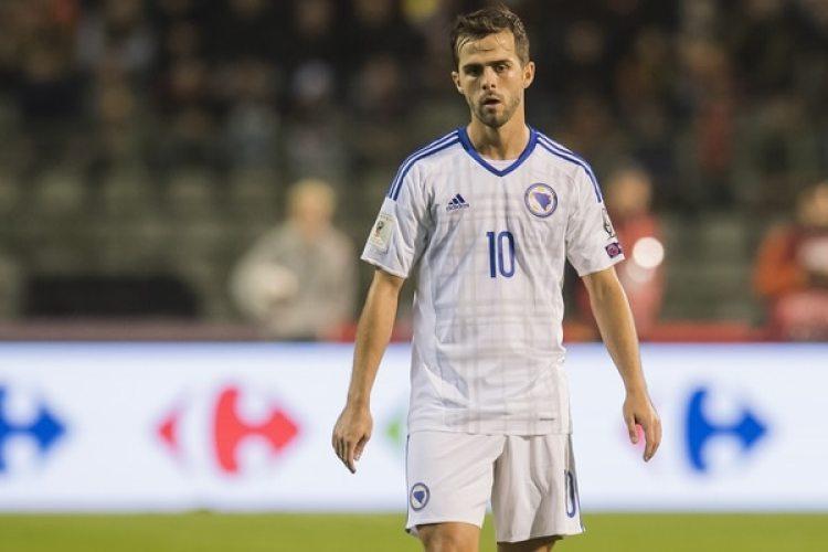 Miralem Pjanic: el mediocampista bosnio de 27 años lidera el juego de Juventus (Getty)