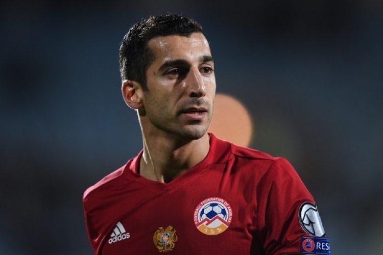 Henrikh Mkhitaryan: el armenio del Manchester United también dejará un hueco significante en el Mundial (AFP)