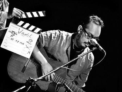 El músico y poeta Vadik Barrón.