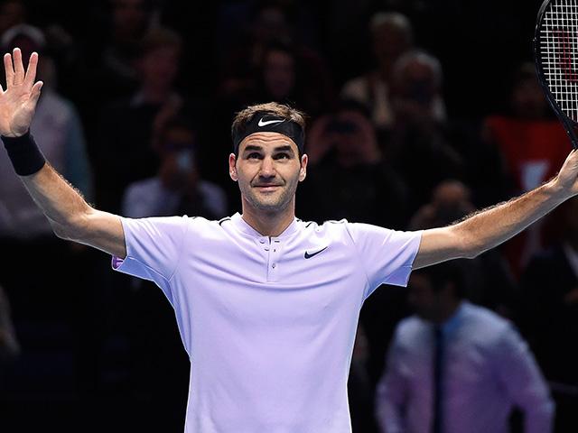Goffin avanza a duelo con Federer en semis de Copa Masters