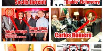Circulan fotos de funcionarios del Gobierno de Evo con Brennan y autoridades de EEUU