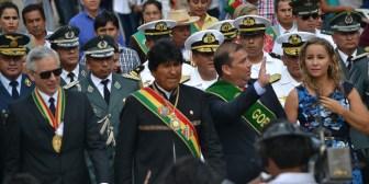Primeros mandatarios participaron del desfile en homenaje a efeméride de Beni