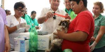 Santa Cruz. Campaña de vacunación a perros, está en marcha