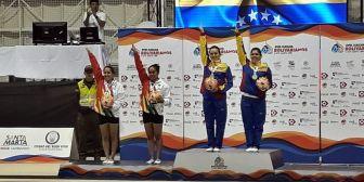 Bolivia se adueña de plata y bronce en gimnasia trampolín
