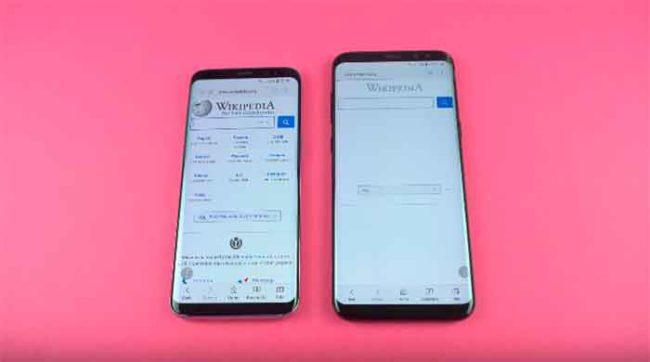 Samsung Galaxy S8 con Oreo