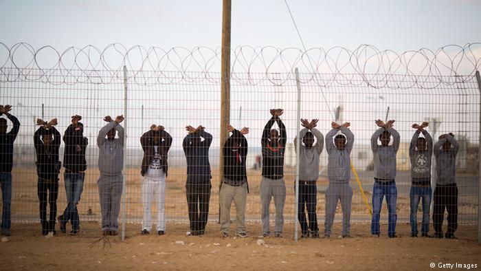 Flüchtlingslager Holot für afrikanische Asylsuchende in Israel (Getty Images)