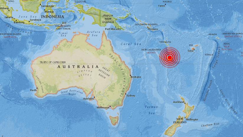 Terremoto en el Pacífico Sur: SHOA descarta riesgo de tsunami para Chile